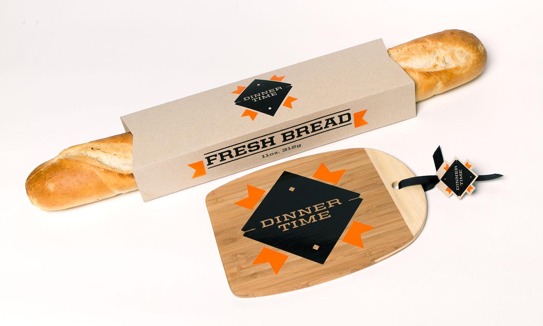 Dinnertime Pasta: Bread & Cutting Board